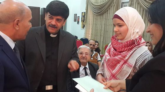 Visit from Min of Education